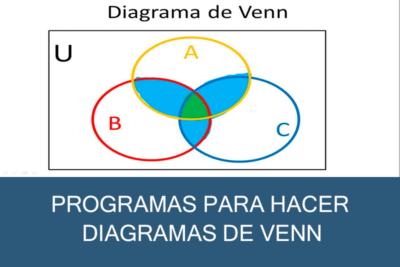 Programas para hacer Diagramas de Venn Gratis