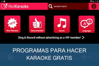 Programas para hacer Karaoke Gratis