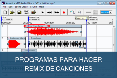 Programas para hacer Remix de Canciones Gratis